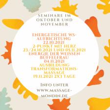 Seminare im Oktober