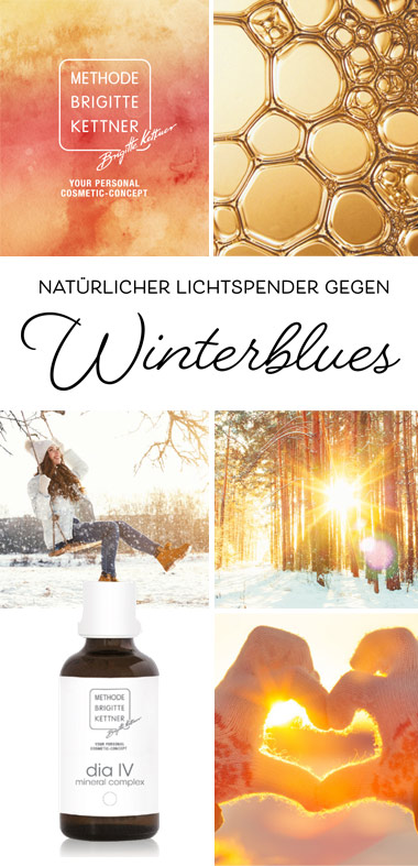 Natürlicher lichtspender gegen Winterblues