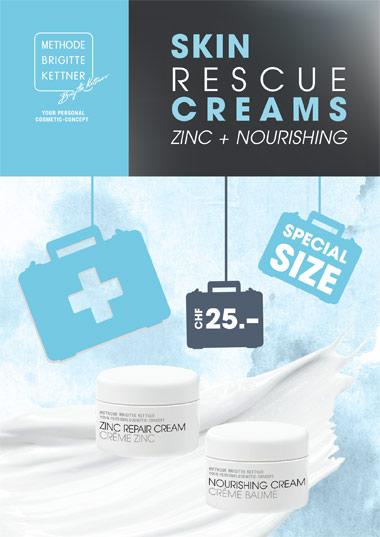 Skin Rescue Creams Zinc + Nourishing