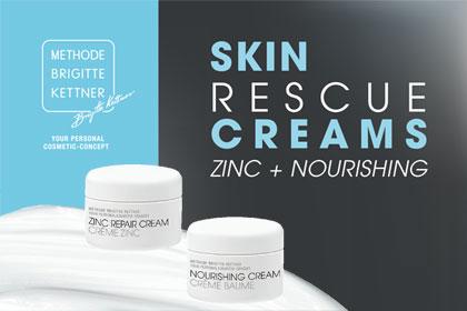 Skin Rescue Creams - Zinc + Nourishing