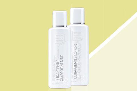 ReinigungsDuo für die trockene und sensible Haut mit gratis Lotion