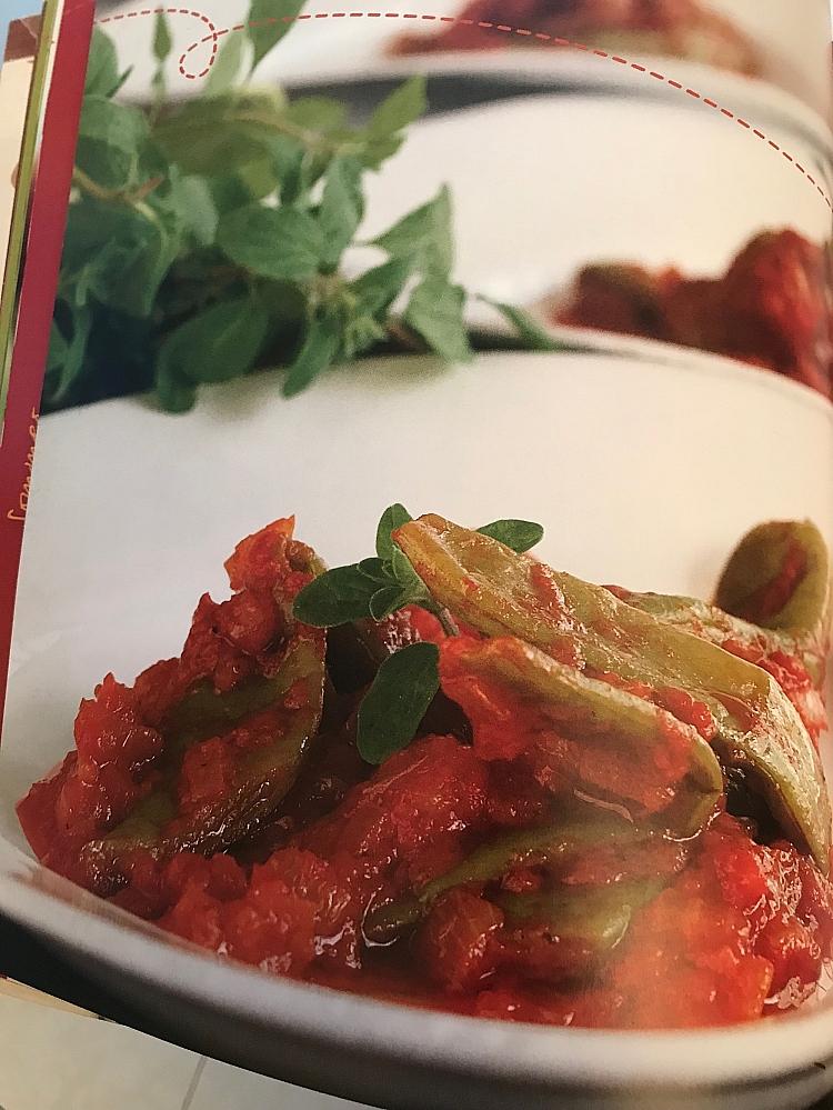Buch innen Bohnen in Tomatensauce