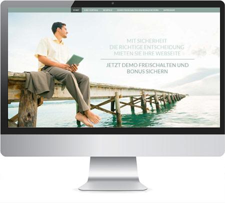 Landingpage Mietwebseiten