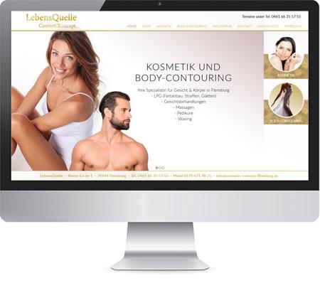LebensQuelle Cosmetic Concept