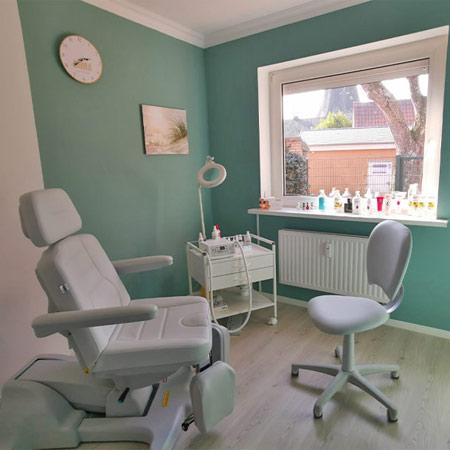 Fußpflege Behandlungsraum