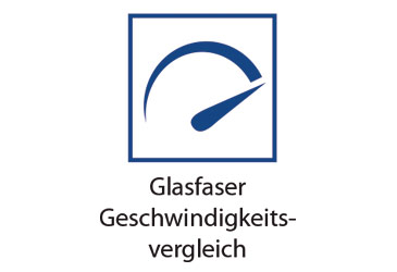 Glasfaser Geschwindigkeitsvergleich