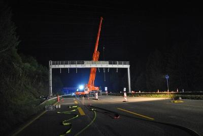 20.05.2017: Tödlicher Unfall während Bauarbeiten auf der Autobahn 7
