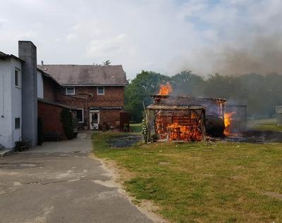 14.06.2018: Zwei Feuer halten die Quickborner Feuerwehr in Atem