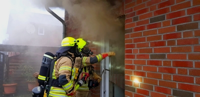23.12.2020: Küchenbrand am Tag vor Heiligabend