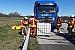 22.04.2020: Dieseltank nach Verkehrsunfall aufgerissen