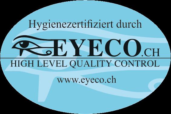 EYECO-Hygienezertifizierung