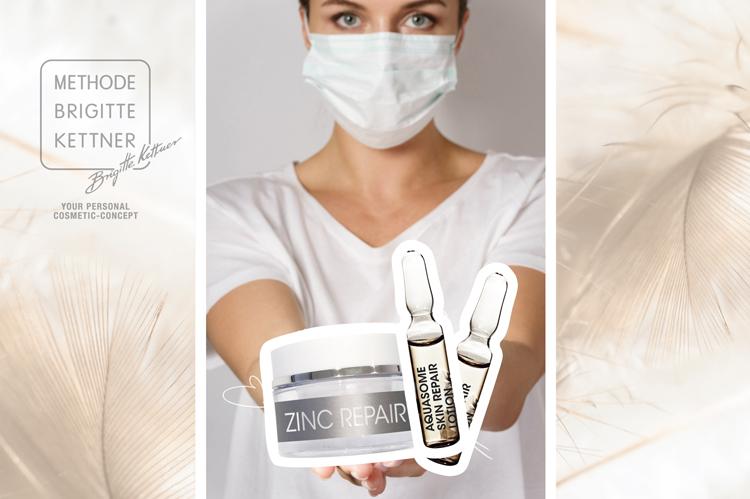 SOS-Pflege für irritierte Haut