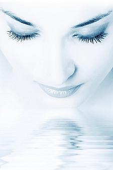 ins Wasser schauen