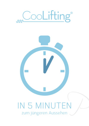 Neu! CooLifting - das revolutionäre, patentierte System zur effizienten, straffenden Gesichtsbehandlung