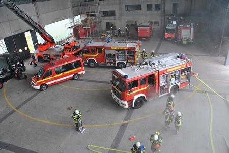 05.07.2014 - Ausbildungstag an der Landesfeuerwehrschule