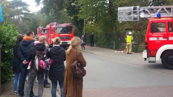 Übung / Feuer in KiTa Zwergenvilla