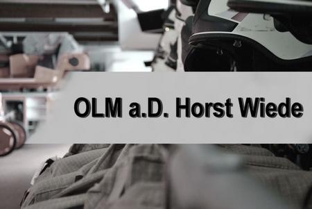 24.10.2016: Nachruf, OLM a.D. Horst Wiede