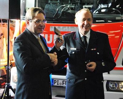 28.01.2017: Neue Fahrzeuge für die Freiwillige Feuerwehr Quickborn