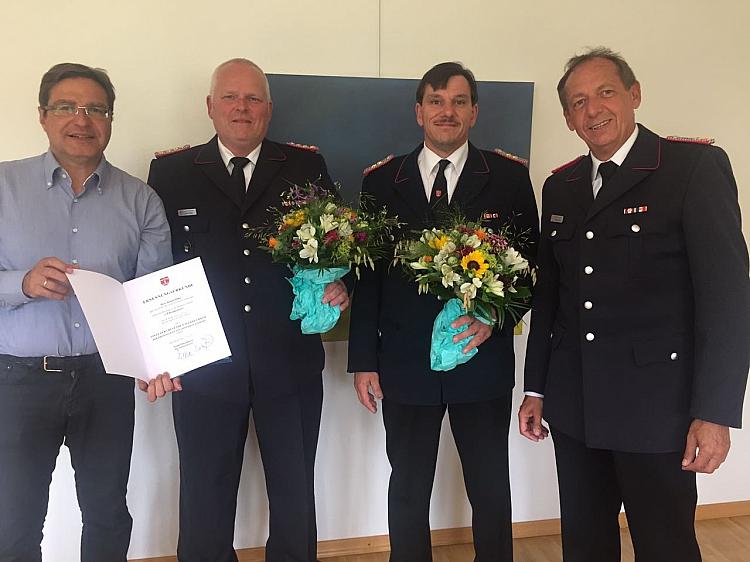 27.06.2017: Wechsel in der Führung der Feuerwehr Quickborn vollzogen