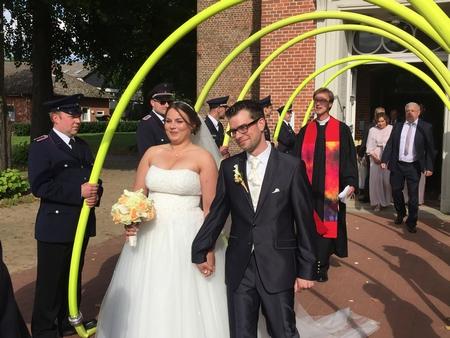 02.09.2017: Hochzeit in Quickborn