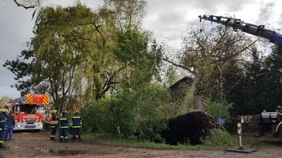 05. - 06.10.2017: Einsatzbericht Orkan Xavier
