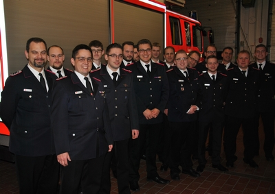 02.02.2018: Jahreshauptversammlung der Feuerwehr Quickborn