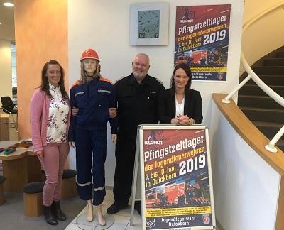 11.11.2018: Volksbank Pinneberg-Elmshorn unterstützt das Zeltlager