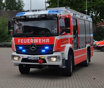 28.05.2021: Neues Fahrzeug für die Quickborner Feuerwehr
