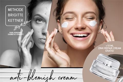 DAS POWER DUO IN DER HAUTPFLEGE! Die MBK anti-blemish cream und die MBK zinc repair cream!