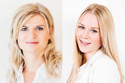 Claudia Sonntagbauer und Sandra Weilnhammer